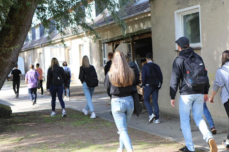 """Schülerinnen und Schüler des Gymnasiums """"Am Tannenberg"""" in Grevesmühlen werden über die Studienangebote der Hochschule Wismar informiert"""