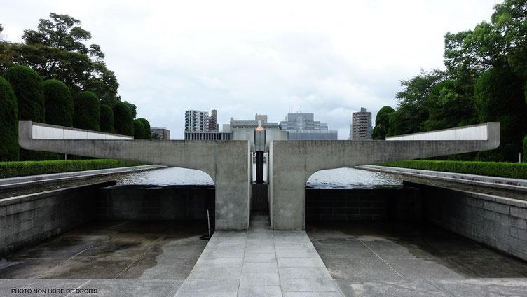 La flamme de la Paix, Hiroshima