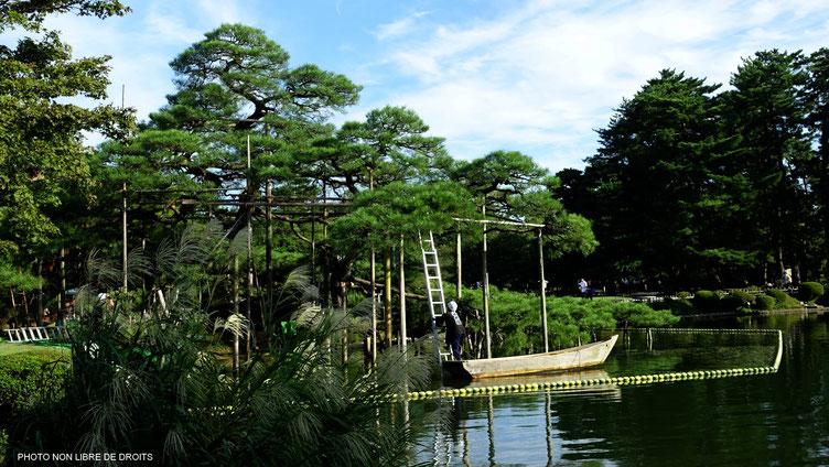 Jardin deKenroku-En, Japon