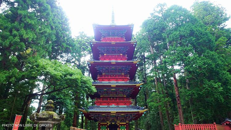 Gojunoto, pagode à 5 étages, Nikko