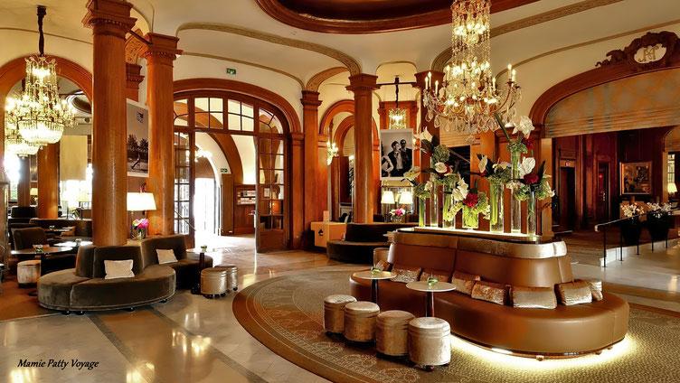 Intérieur jour, hôtel Normandy Barrière