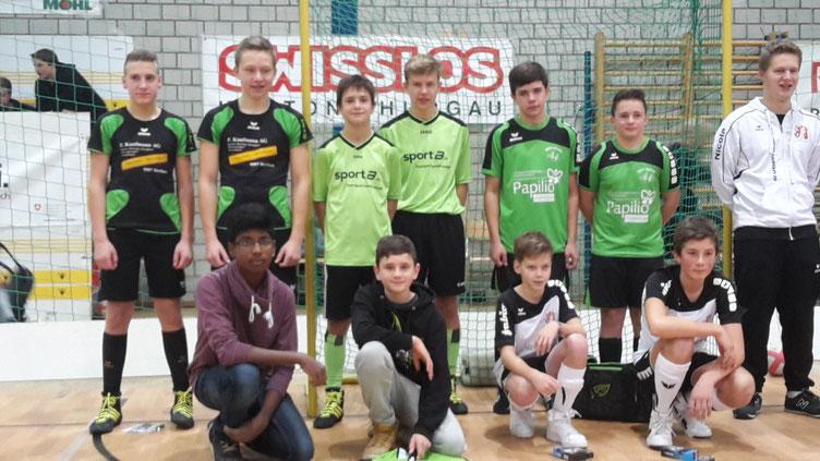 Siegerehrung Jugend Neujahrsturnier in Frauenfeld mit Sieg für Mosnang