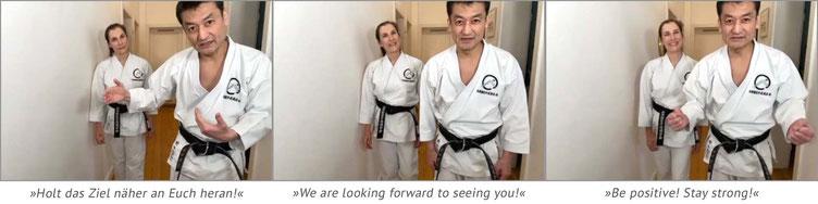 Karate Erlach, Shinji Akita-Sensei, Online Karate-Training