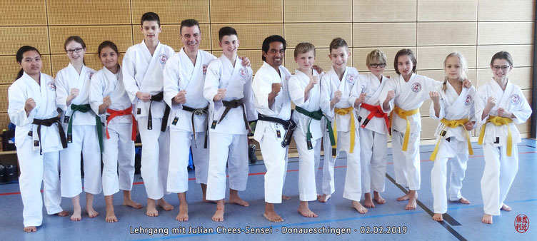 Julian Chees-Sensei, DJKB-Instructor, Lehrgang Donaueschingen, Karate Erlach