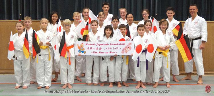 Japan-Hilfsprojekt Von-Herz-zu-Herz, Karate Erlach