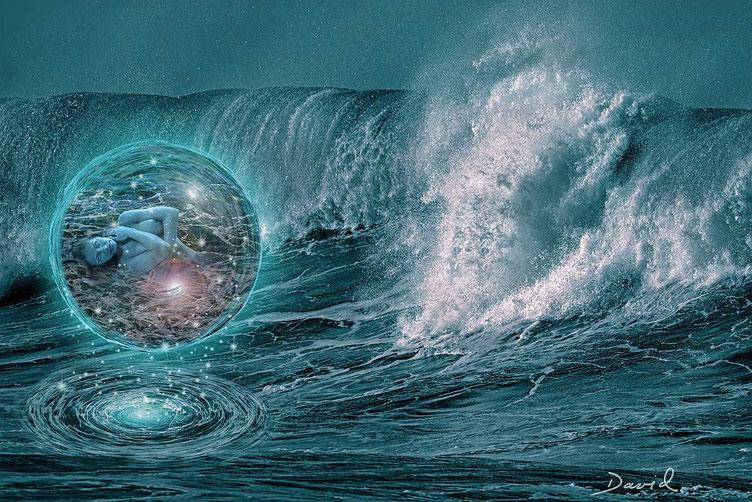 Composing: Geburt einer Meerjungfrau