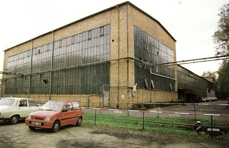 Mechanische Werkstatt Laubusch, neue Halle