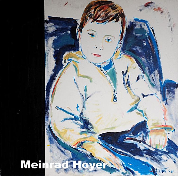 CLEMENS/ Acryl auf Leinwand/ 80 cm x 80 cm
