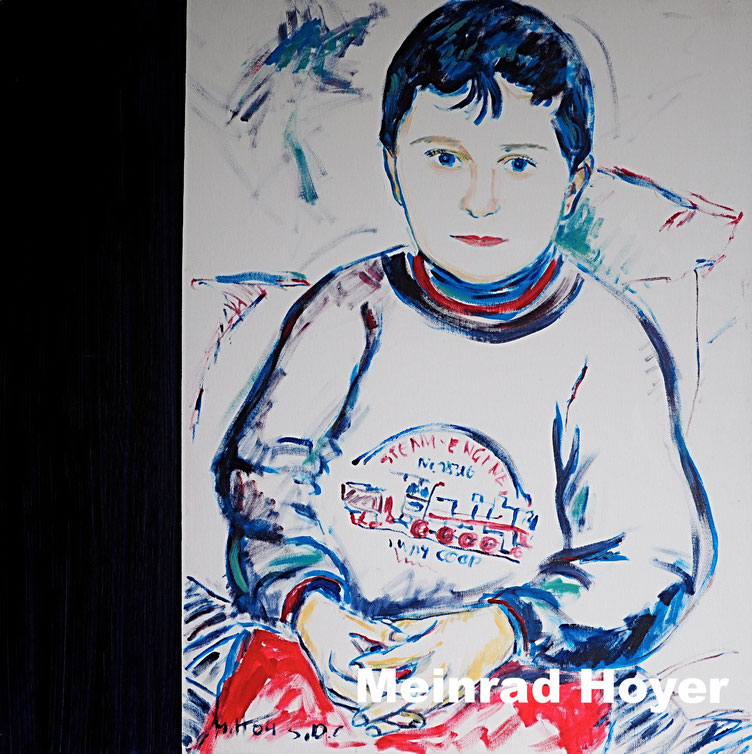 PHILIPP/ Acryl auf Leinwand/ 80 cm x 80 cm