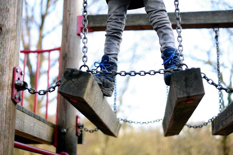 Klettergerüst für Kinder, Klettergerüst