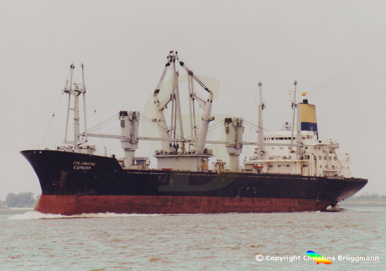 "General Cargo Ship ""COLUMBINE EXPRESS"""