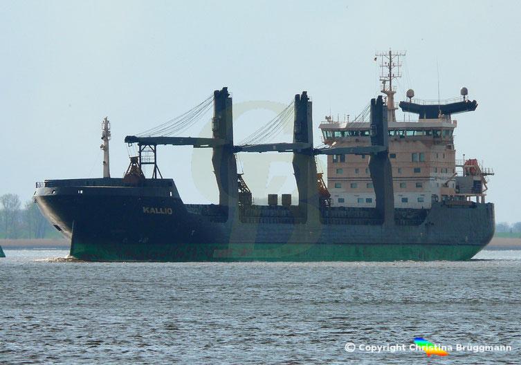 Bulk- u. General Cargo Schiff KALLIO