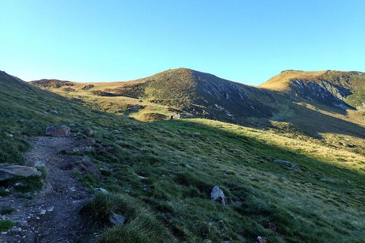 La crête Sud du Cabaliros, chemin classique pour les randonneurs venant de Cauterets.