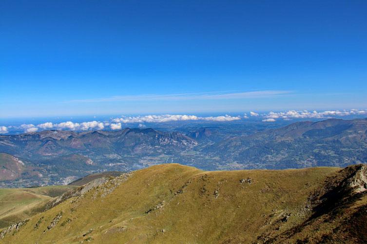 Au Nord, le Val d'Azun.