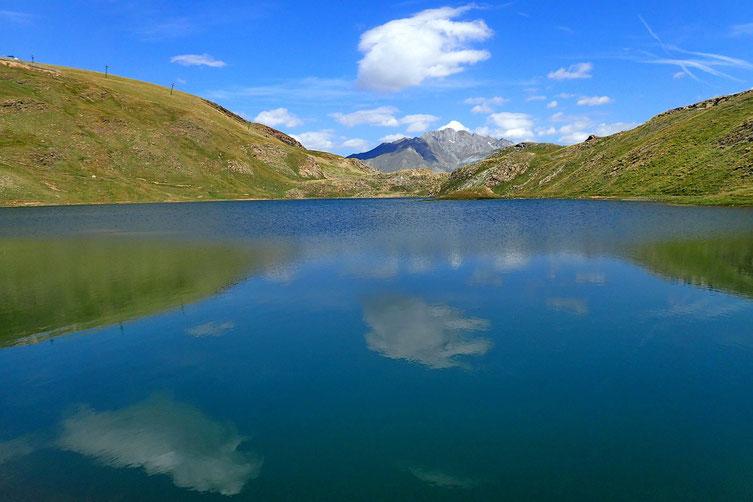 Très joli lac.