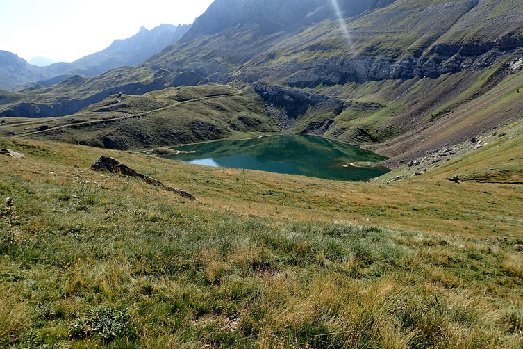 Et le lac (Ibon de los Asnos) se découvre aussi...