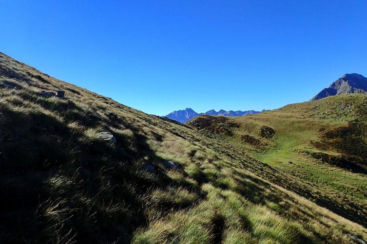 Arrivée au Col d'Anapéou.