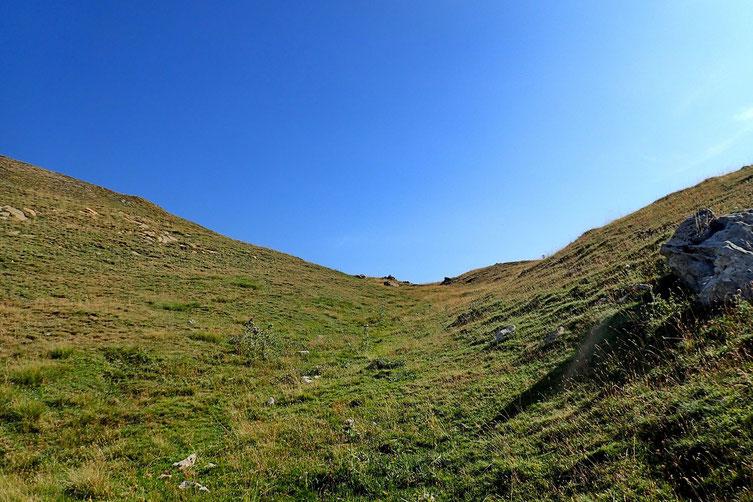 Arrivée au Col de Bozuelo (2120m).