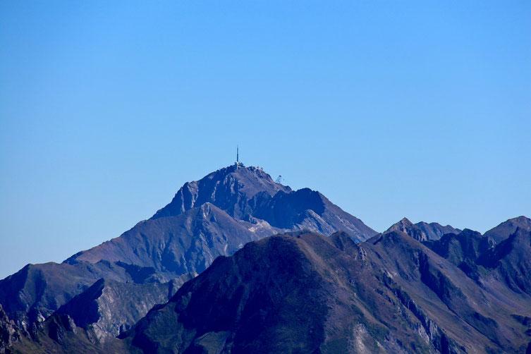 Le Pic du Midi de Bigorre.