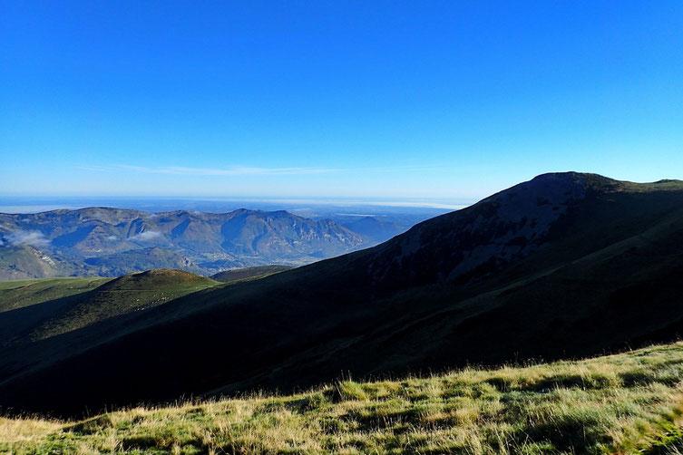 Le début du Val d'Azun, avec Le Pibeste.