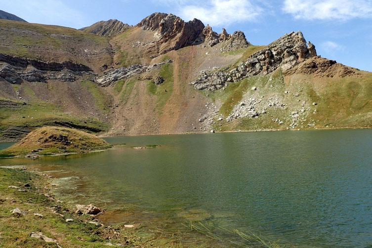La partie sud du lac.