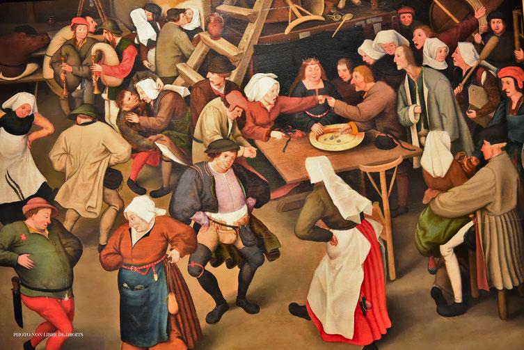 Fête flamande, Musée Départemental de Flandre, Cassel, photo non libre de droits