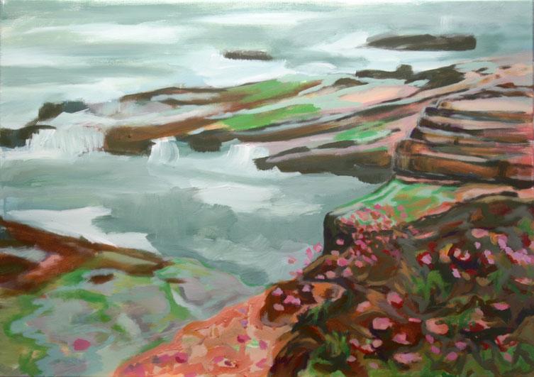 Coast III, 2017 Acryl auf Leinwand 65x90