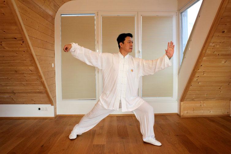 Tai Ji Meister Zhang Xiao Ping Wien