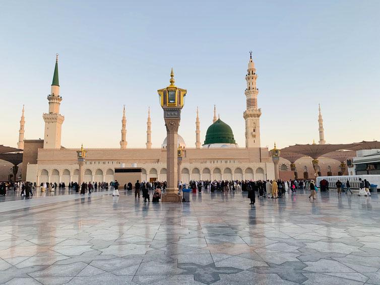 Al Masjid, la Moschea del Profeta - Medina, Arabia Saudita