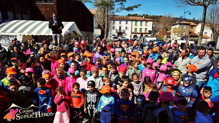 Course enfants - Course des Super Héros - Trail Quillan