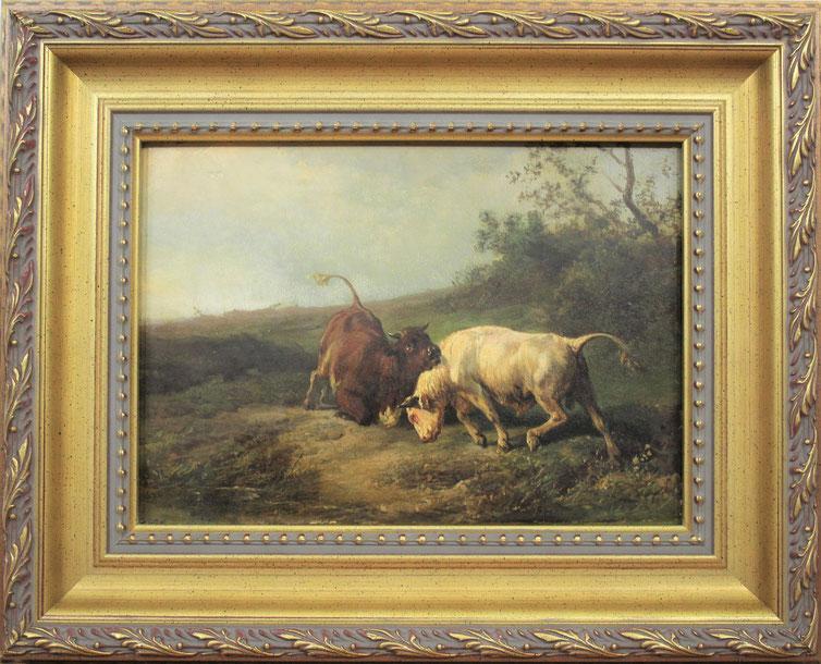 te_koop_aangeboden_een_veegezicht_van_de_nederlandse_kunstschilder_Jan_Bedijs_Tom_1813-1894