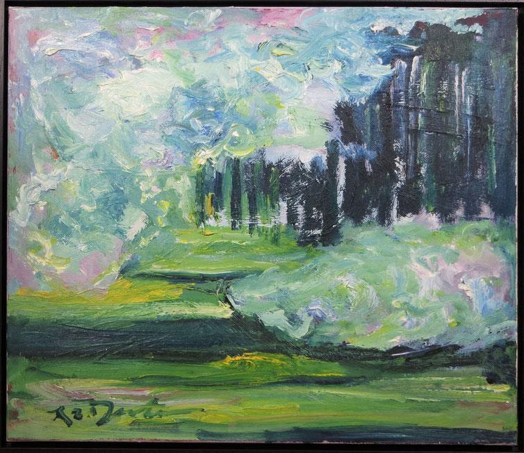 te_koop_aangeboden_een_schilderij_met_moderne_compositie_van_de_kunstenaar_richard_lee_barton_1952