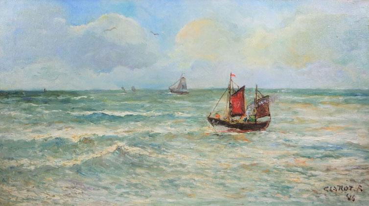 te_koop_schilderij_van_rene_clarot_1882-1972_belgische_school