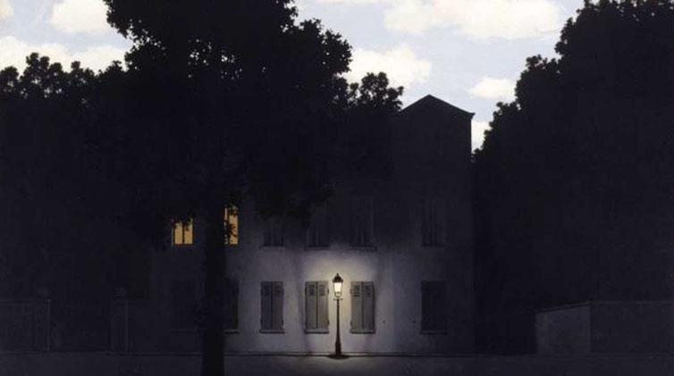 "R. Magritte, ""L'impero delle luci"""