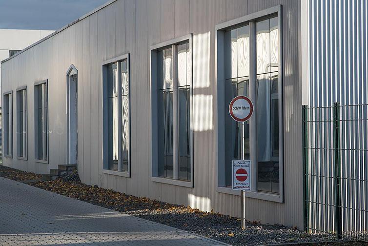 Im Test: Architekturfotorafie mit SONY Alpha 7s2 und LEICA Elmarit-M 2,8/90 mm sowie NOVOFLEX NEX/LEM-Adapter. Foto: Klaus Schoerner