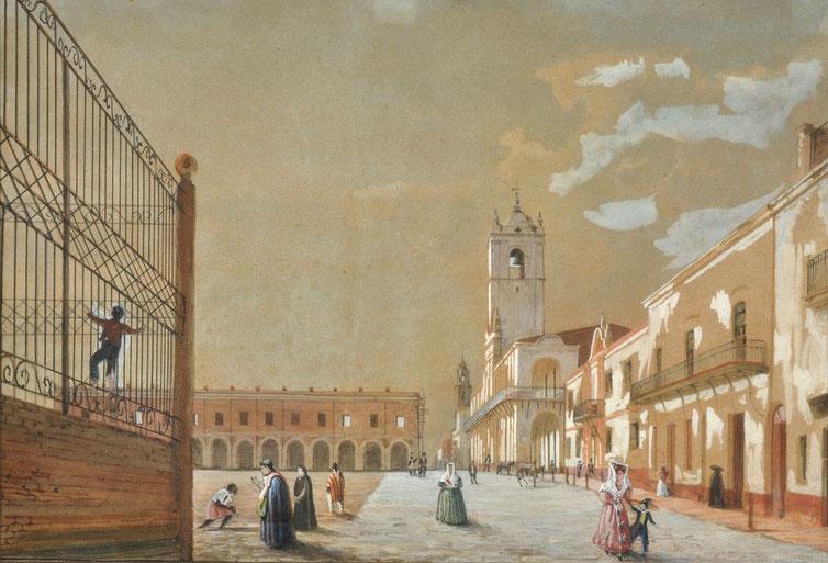 1831. PELLEGRINI, Charles Henri - Carlos Enrique. CABILDO Y POLICIA .