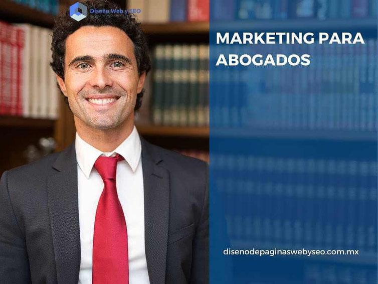 marketing para abogados - posicionamiento en buscadores - diseño de páginas web para abogados