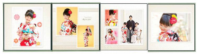 アルバム正方形27cm×27cm 銀塩ラスタープリント