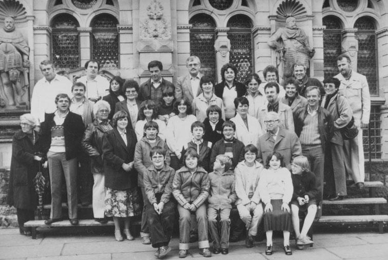 Einer der ersten Ausflüge führte den Club im März 1981 nach Heidelberg