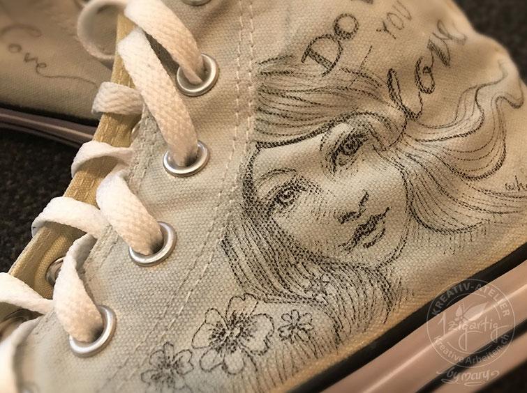 Converse Schuhe Bemalen Kreativ Atelier 1zigartig