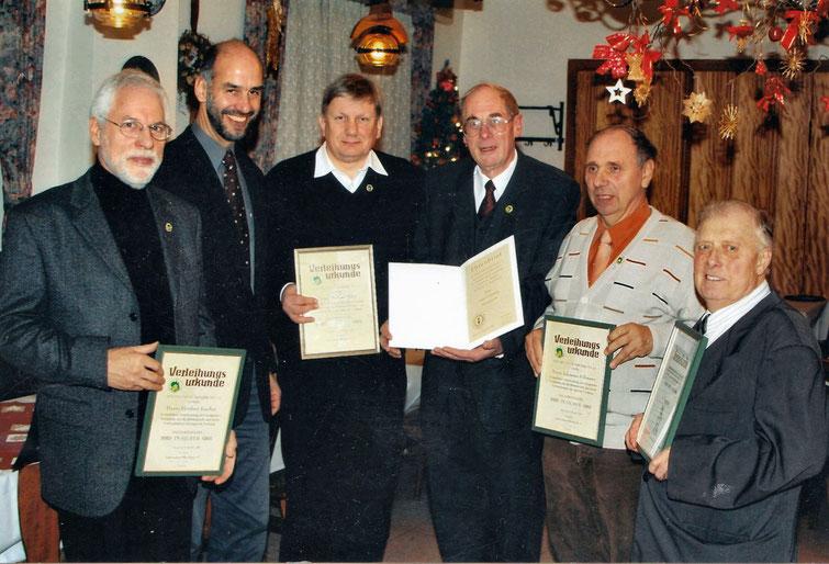 Ehrung am 10. Dezember 2005 Bienenzuchtverein Merkstein