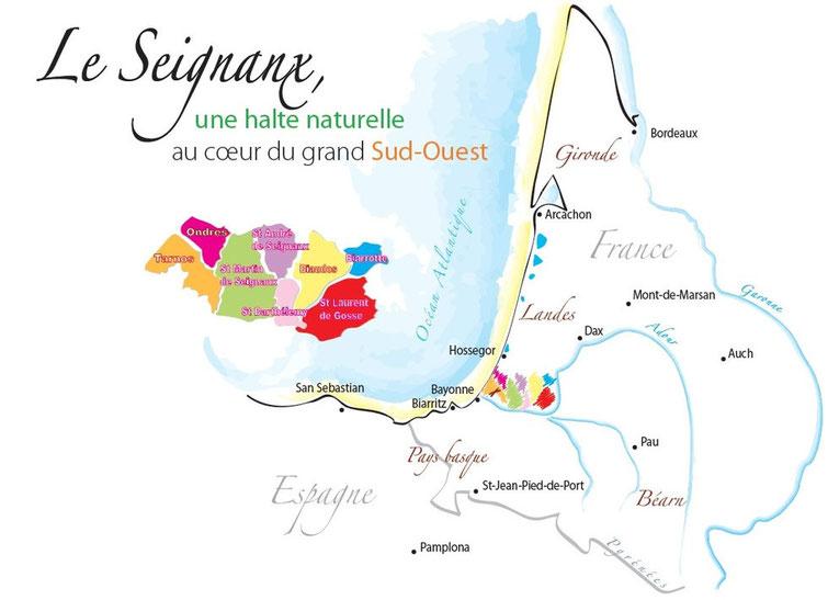 Informations plages ondres et tarnos plages ondres et tarnos - Office de tourisme ondres ...