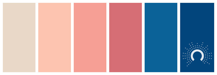 Farbinspiration, color inspiration, color palette, color combination, color combo, Farbpalette, color palette, color combination, color combo, blue, blau, red, rot, red-orange, rotorange