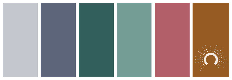 grey, blue, blue-green, red, red-orange, color palette, grau, gray, blau, blaugrün, rotorange, rot
