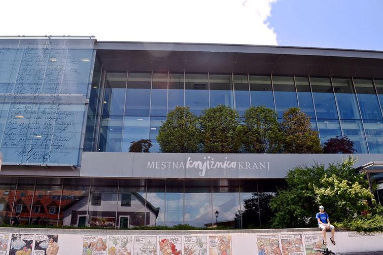 17 sehenswerte Orte in Kranj - Stadtbibliothek
