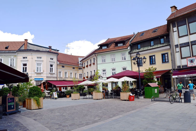 17 sehenswerte Orte in Kranj - Maisterplatz