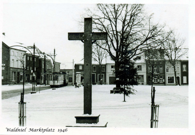 Waldniel, Marktplatz 1946