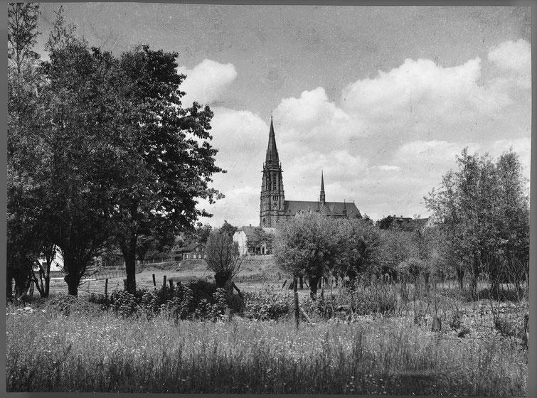 Kirche, Ansicht Weiherstraße