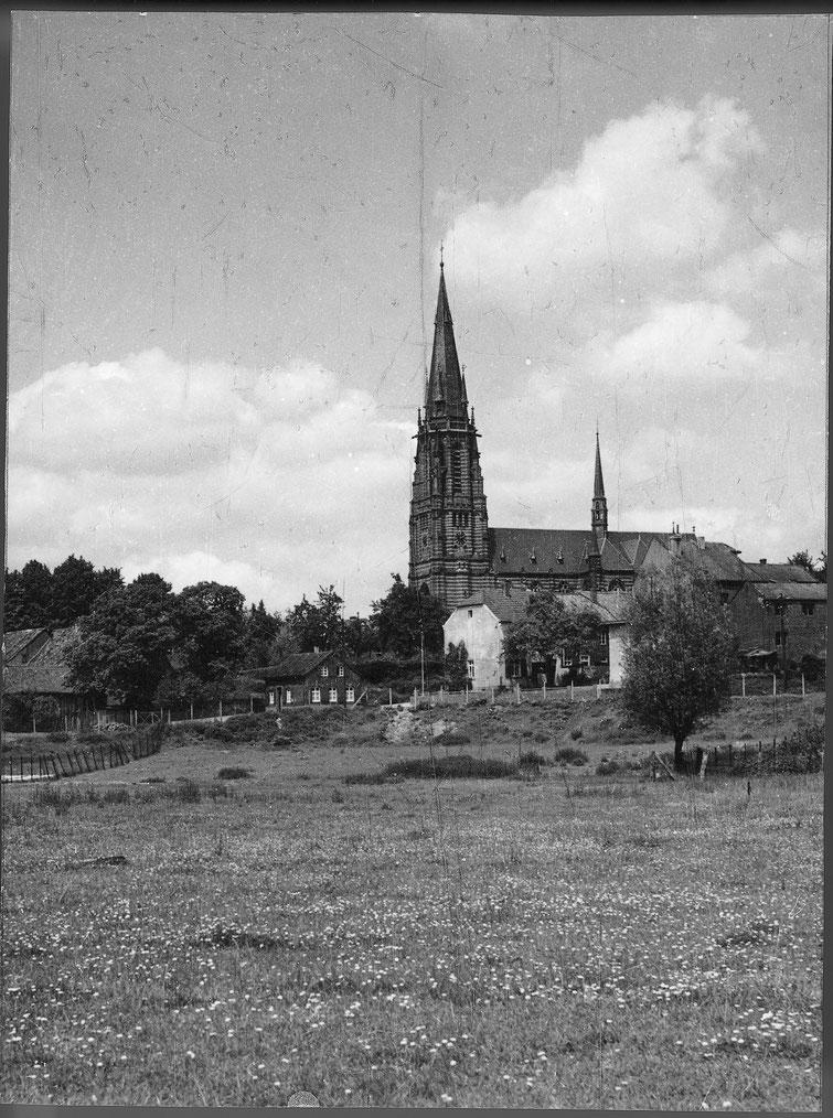Kirche, Ansicht Bleichwall
