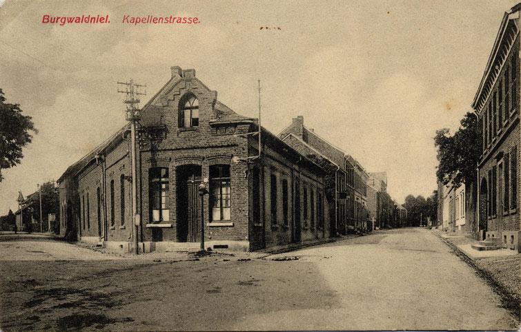 Kapellenstraße, heute Dülkener Straße - Kopie